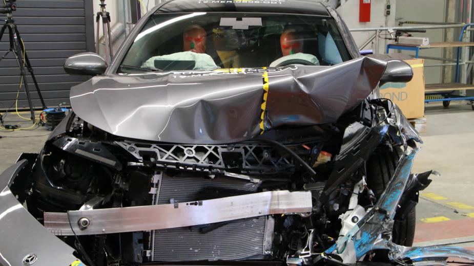 Mercedes-Benz CLA Euro NCAP