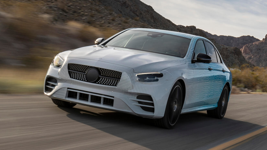Mercedes-Benz Classe E proto