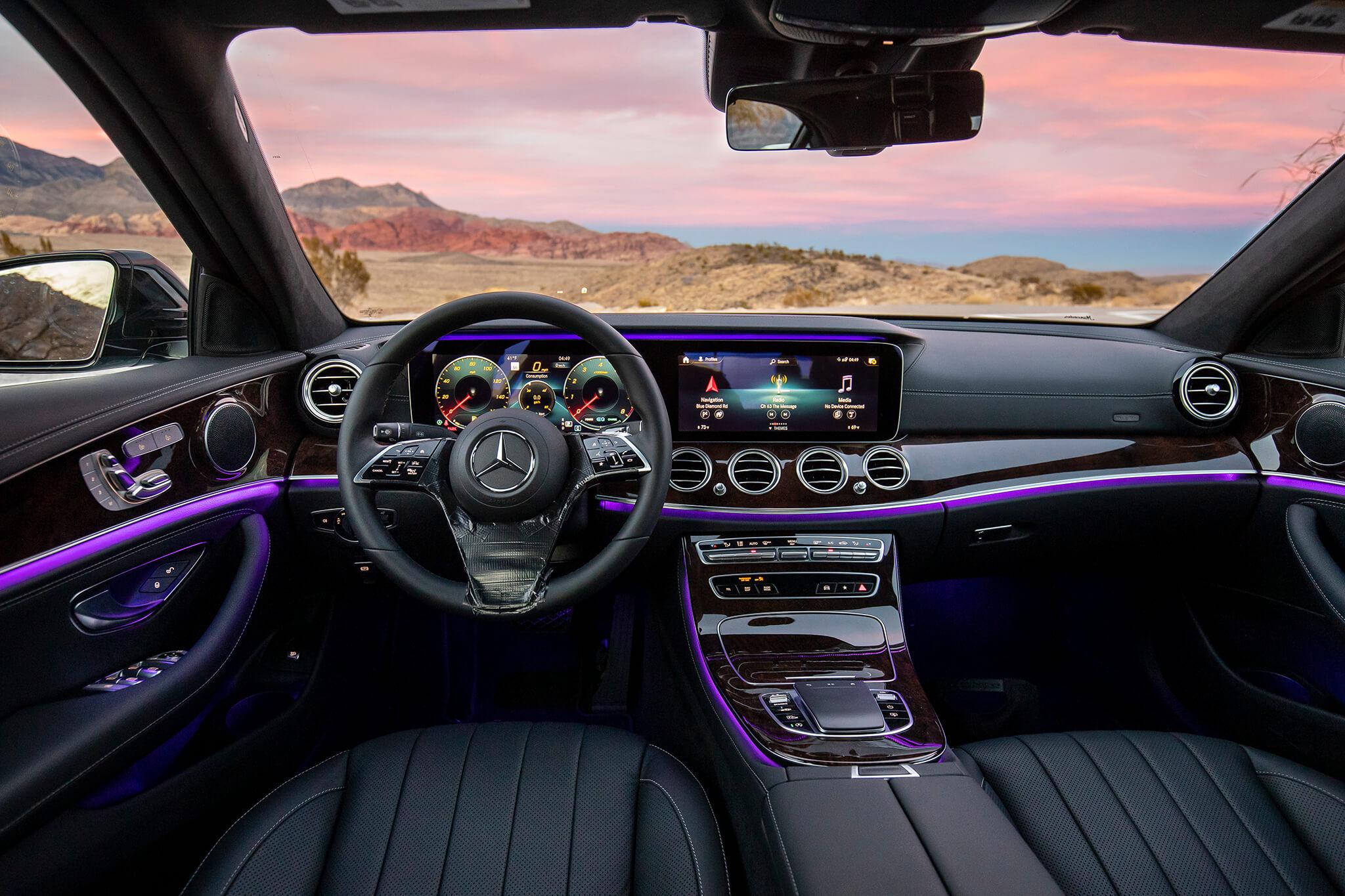 Mercedes-Benz Classe E protótipo