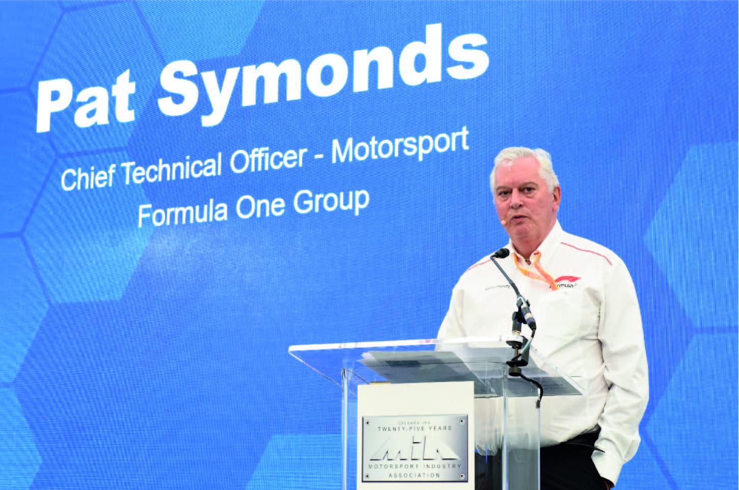 Pat Symonds, Diretor Técnico da Fórmula 1
