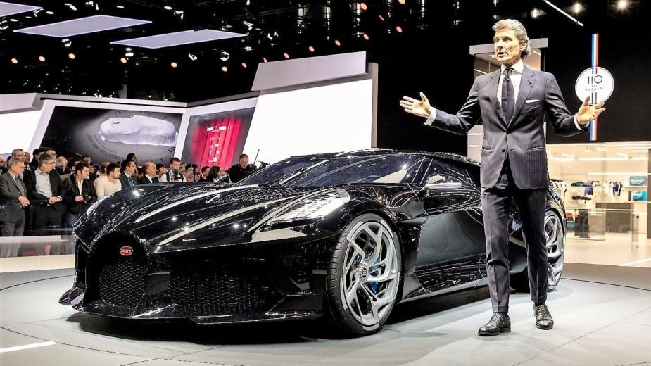 Stephan Winkelmann, CEO da Bugatti