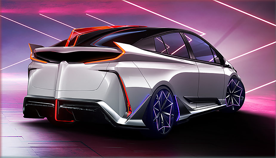 """Toyota Ambivalent """"RD"""" Prius PHV Concept"""