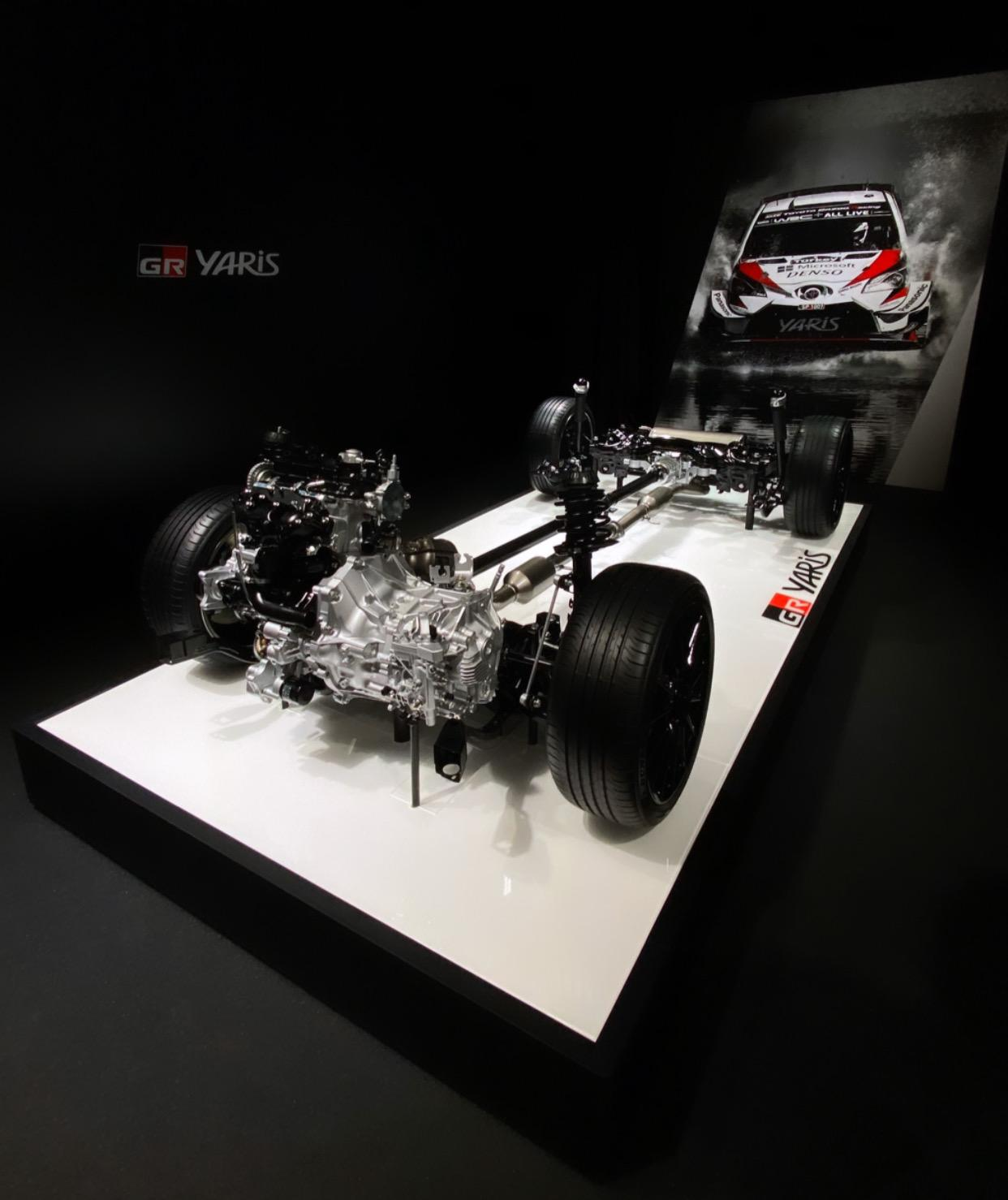 Toyota GR Yaris GR-FOUR tração