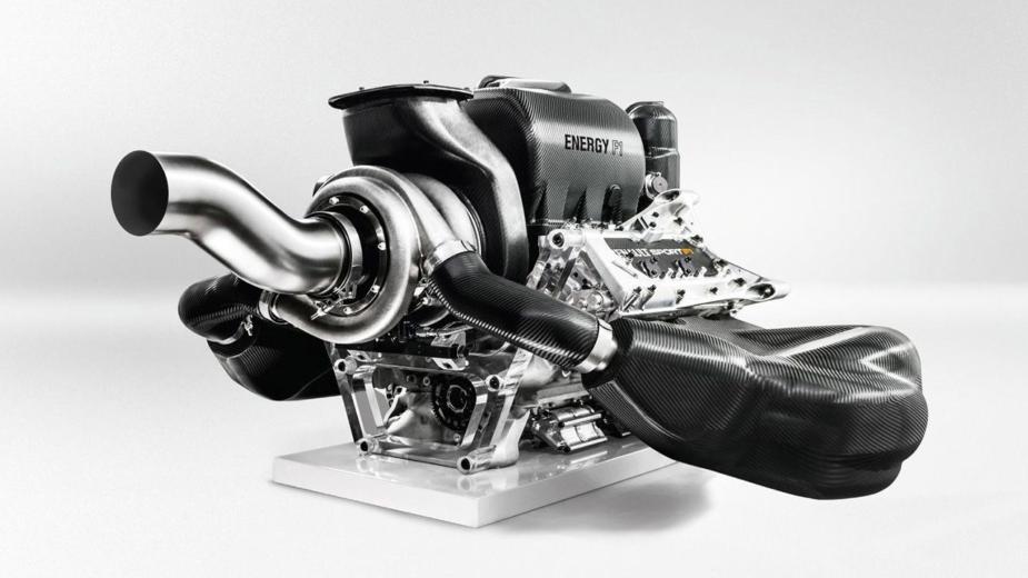 Motor V6 da Renault Sport