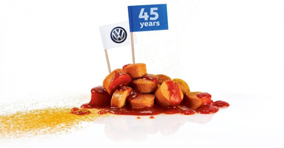 Salsichas Volkswagen