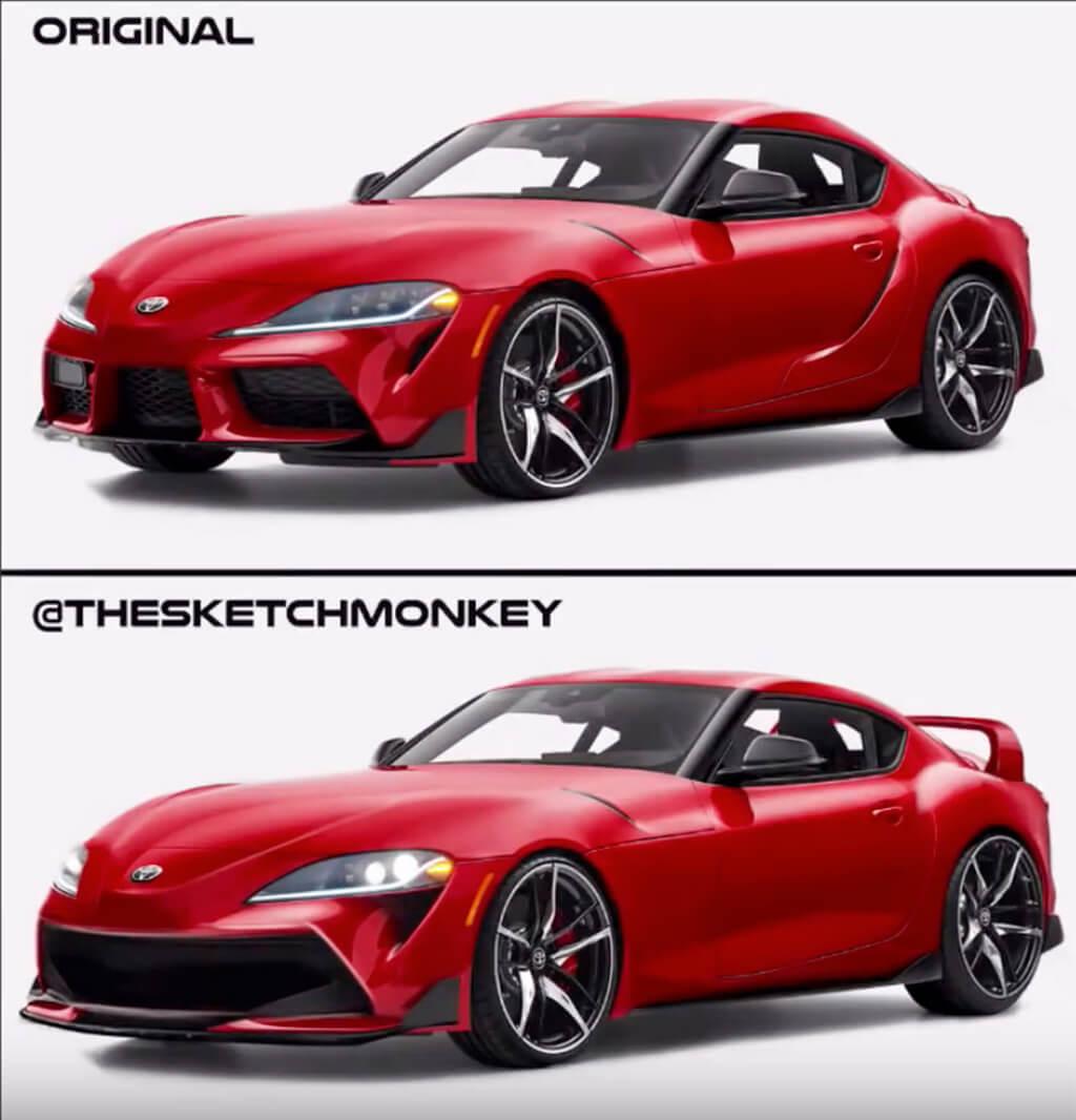 Toyota GR Supra redesign