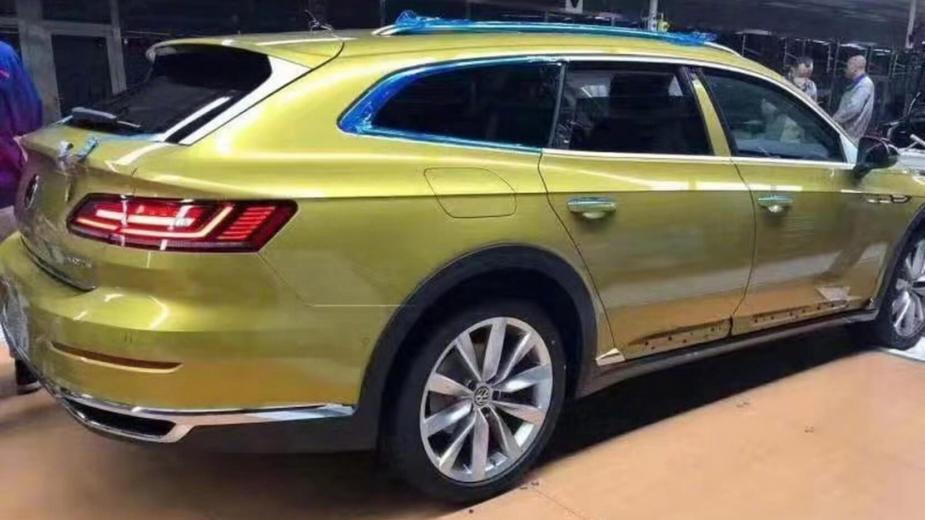 Volkswagen Arteon Shooting Brake fuga imagens