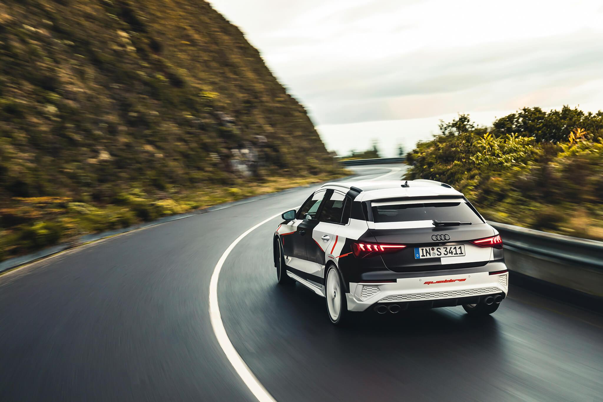 Audi S3 prototipo 2020