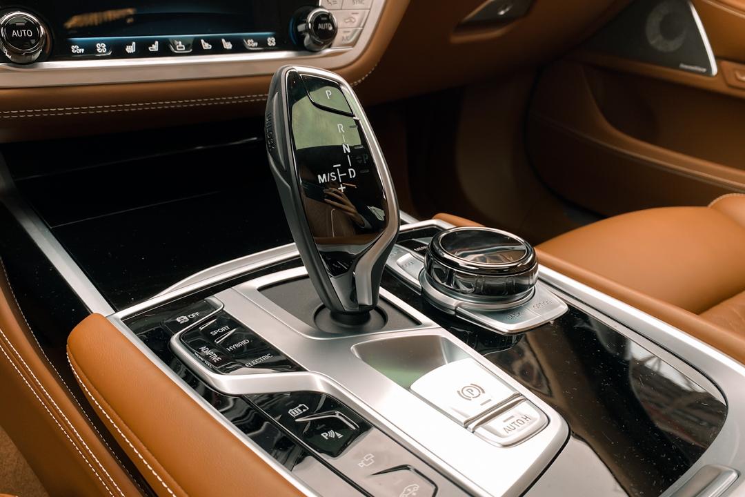 Manípulo da caixa automática BMW Série 7