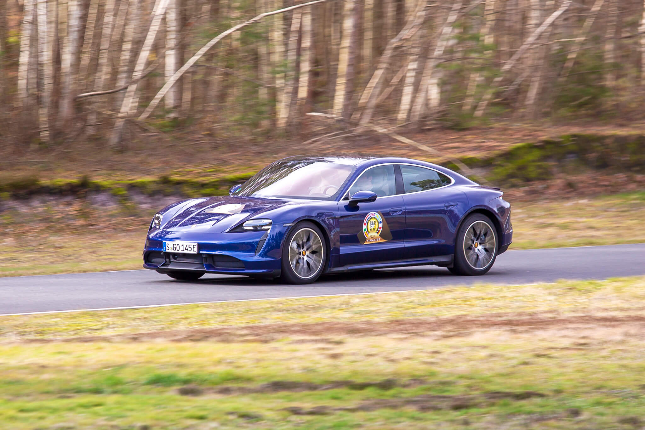 Car of the Year 2020 — Porsche Taycan
