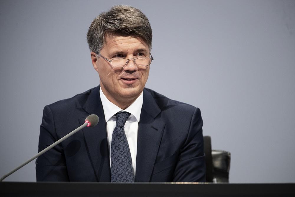 Harald Krueger, ex-CEO da BMW.