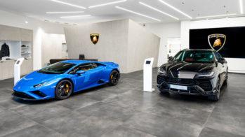 Lamborghini novo concessionário