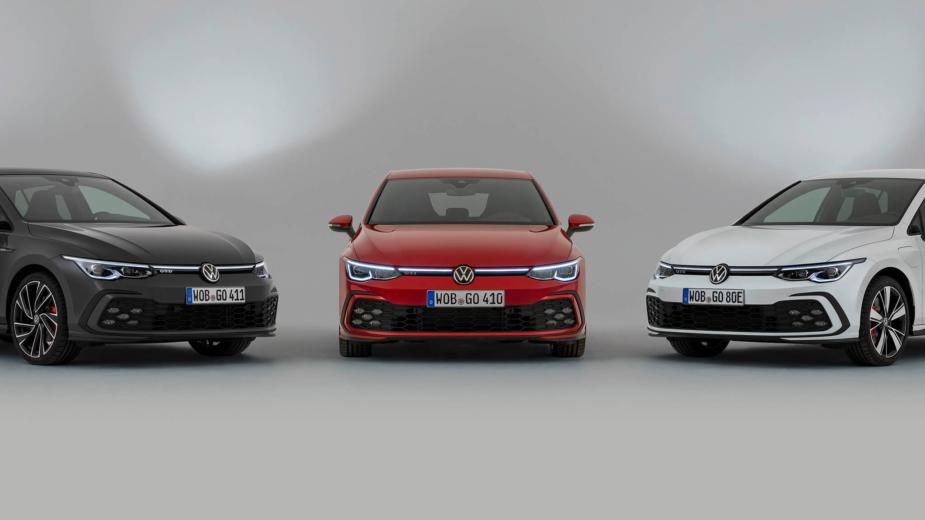 Volkswagen Golf GTI, GTD e GTE