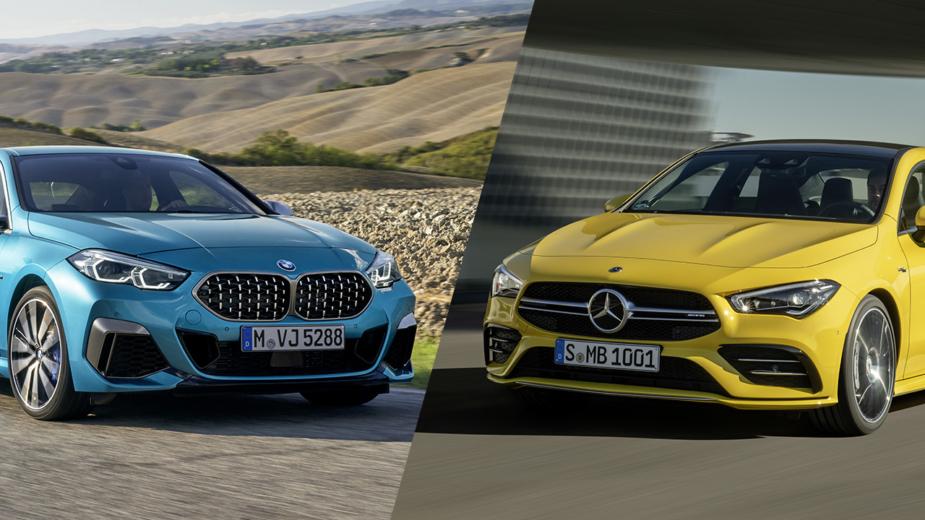 BMW M235i Gran Coupe e Mercedes-AMG CLA 35