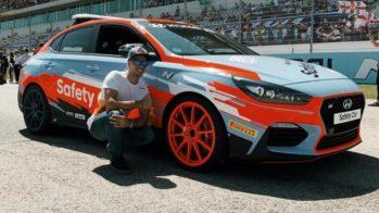 Hyundai i30 Miguel Oliveira