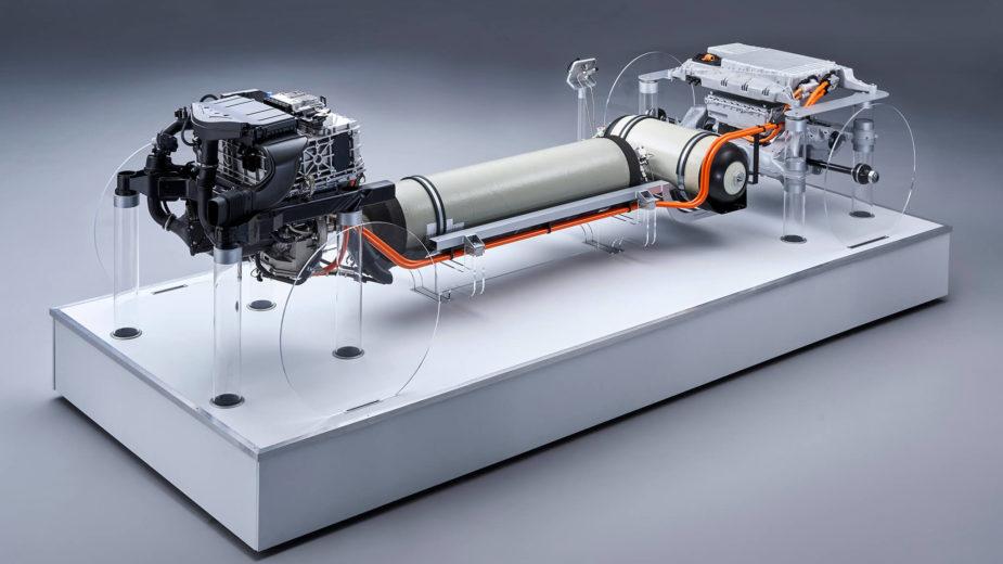 Segunda geração do BMW i Hydrogen NEXT
