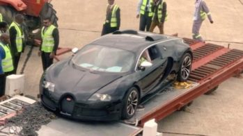 Bugatti Veyron Zâmbia