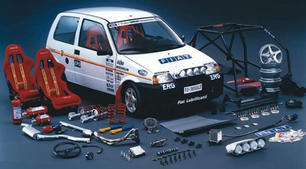 Fiat Cinquecento Sport trofeu