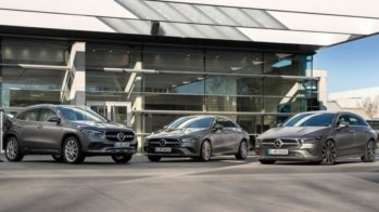 Mercedes-Benz GLA, CLA Coupé e CLA Shooting Brake Híbridos plug-in