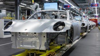 Porsche fábrica