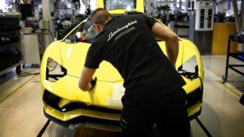 Fábrica da Lamborghini em Sant'Agata Bolognese.