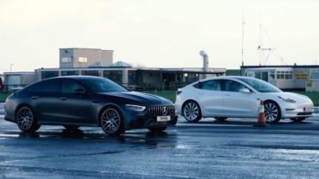 Tesla Model 3 Performance e Mercedes-AMG GT 63 S 4 portas