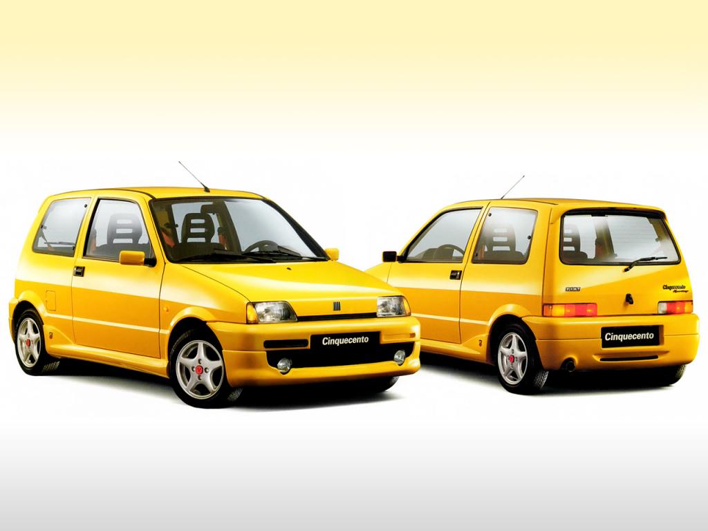 Fiat Cinquecento Sport com kit Abarth