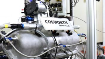 Gordon Murray Automotive T.50, Motor Cosworth Mula de Testes