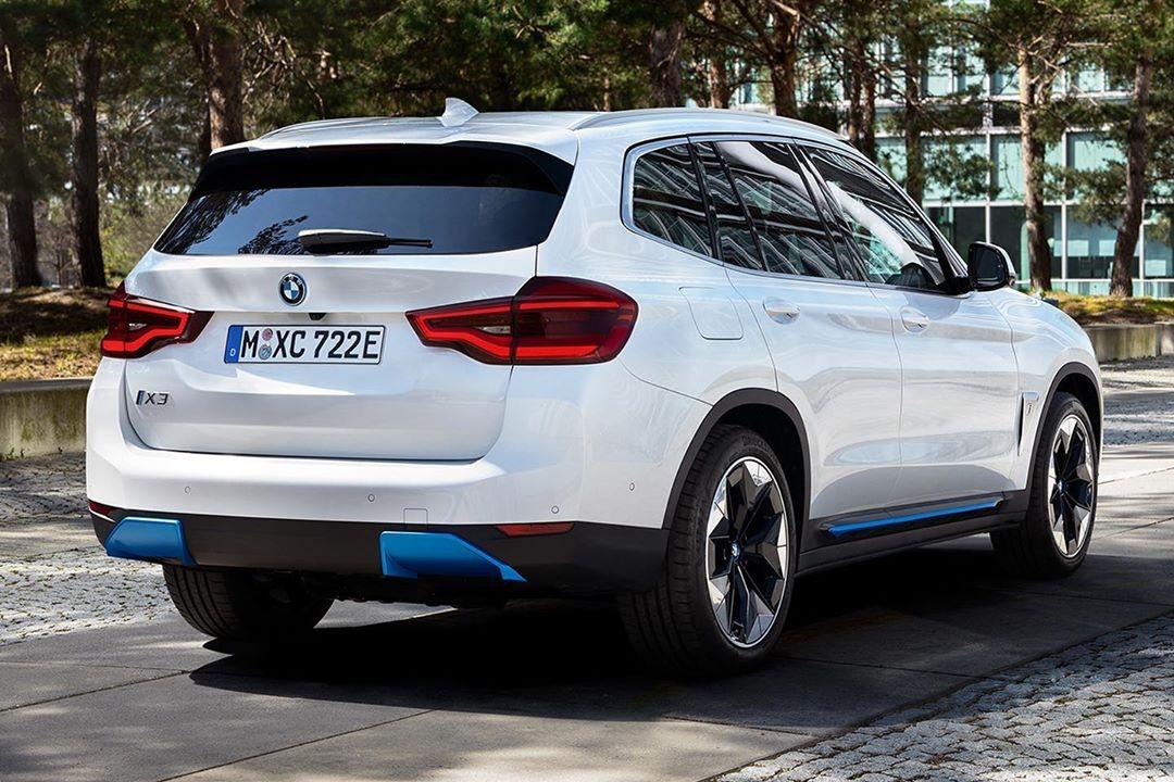 BMW iX3 fuga de imagens