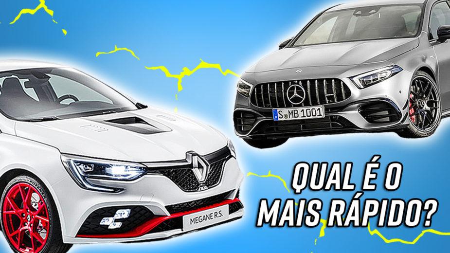 Mercedes-AMG A 45 S vs Renault Mégane R.S. Trophy-R