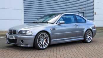 BMW M3 CSL caixa manual