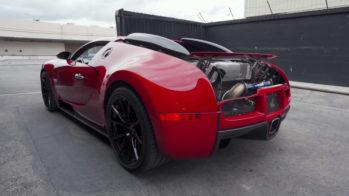 Bugatti Veyron escape Ryft