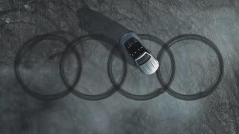 Merecedes-AMG piões símbolo Audi