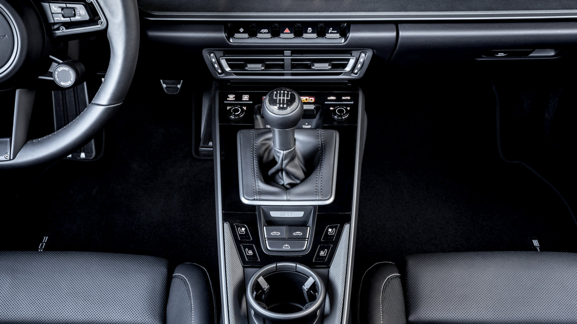Porsche 911 caixa manual