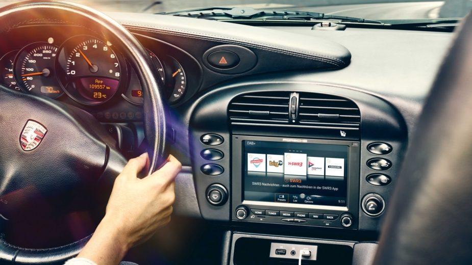 Porsche rádio clássicos