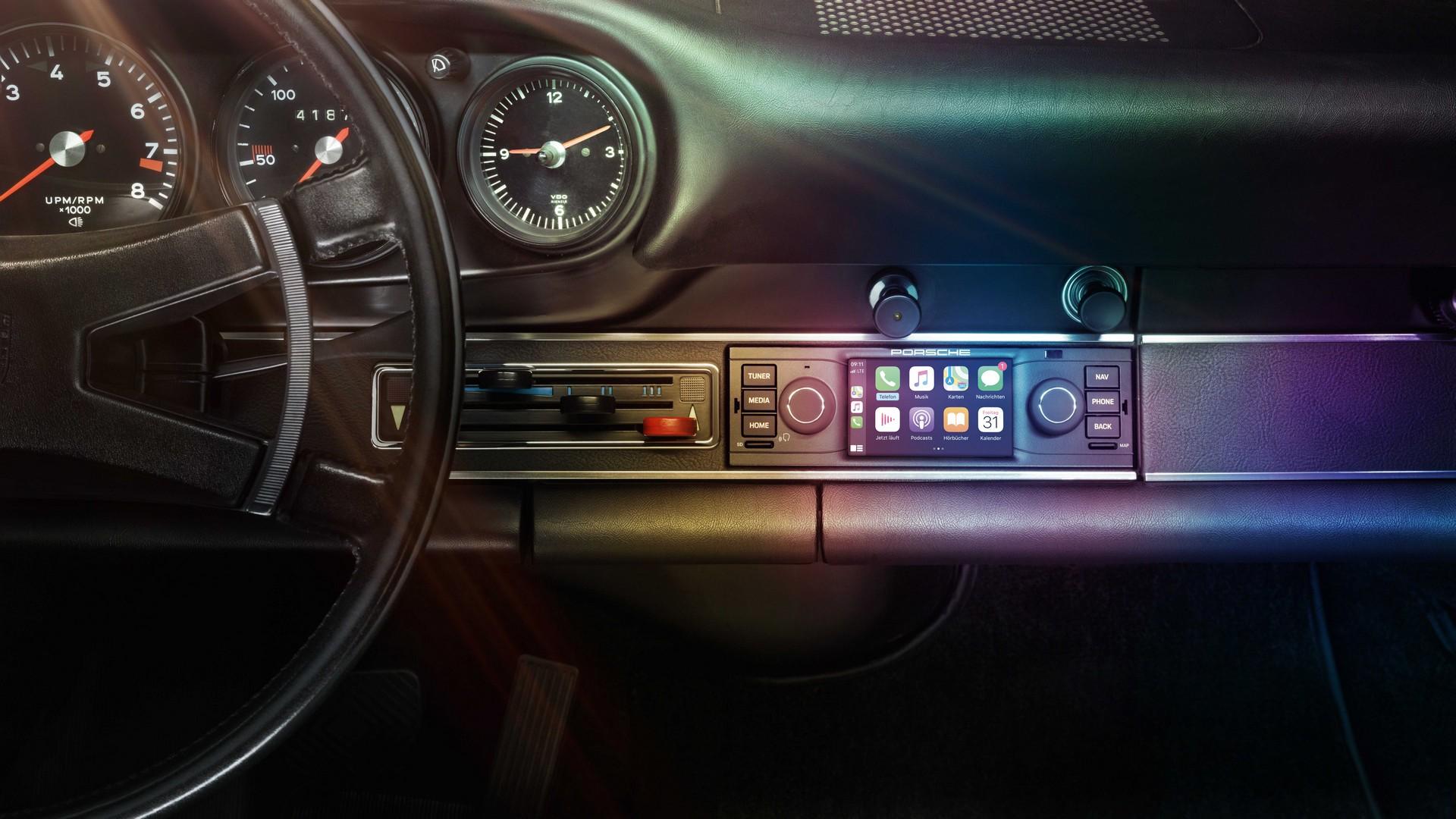 Porsche rádio classicos
