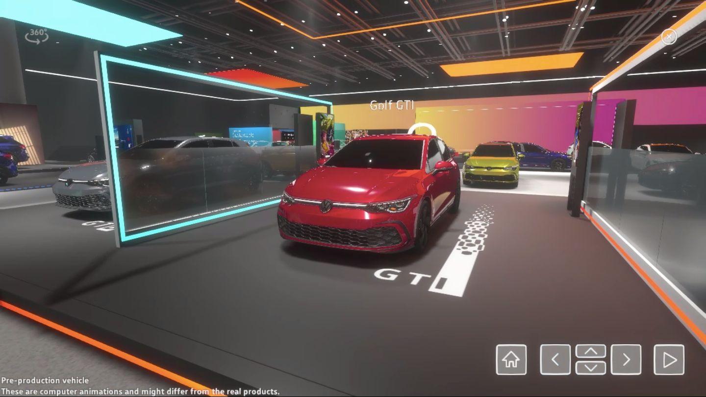 Salão Virtual Volkswagen
