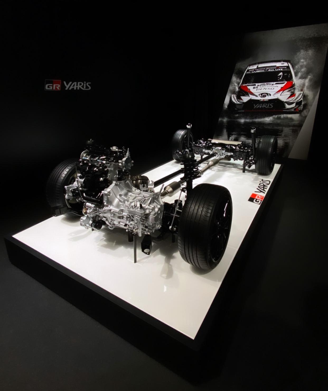 Toyota GR Yaris transmissão