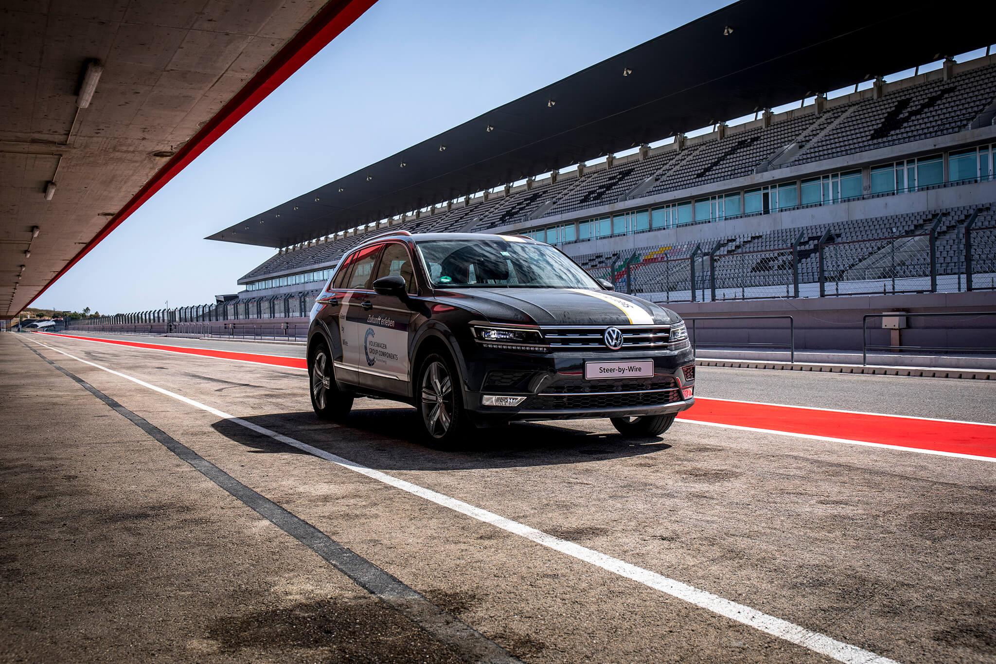 Volkswagen tiguan steer-by-wire
