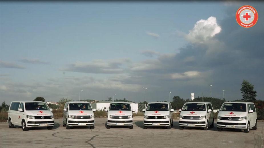 Volkswagen Transporter Cruz Vermelha Portuguesa