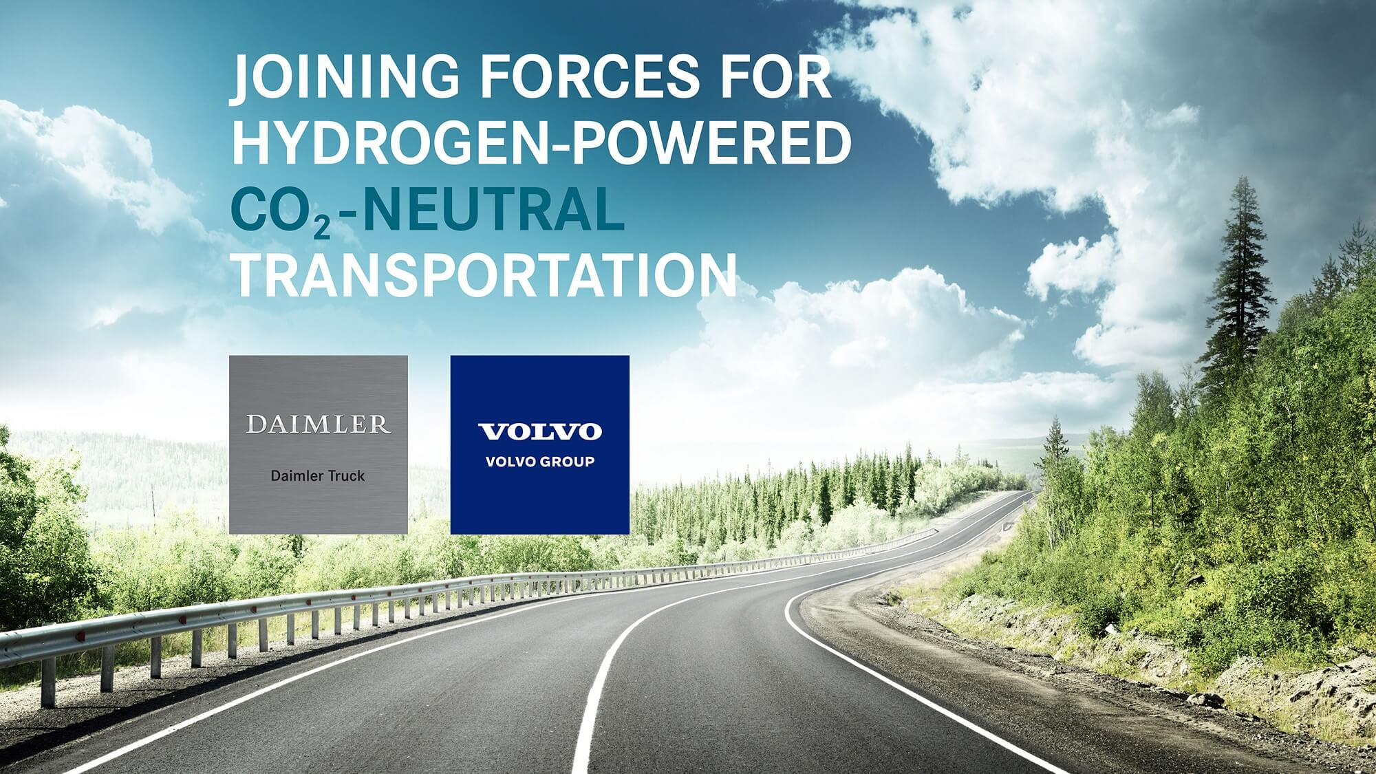 Volvo e Daimler joint-venture