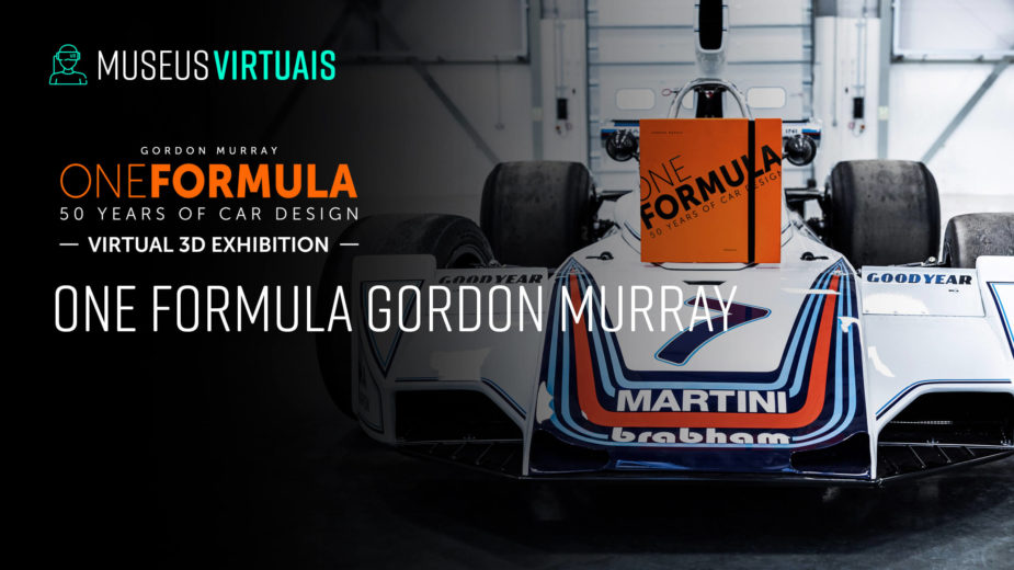 "Museus Virtuais — Gordon Murray ""One Formula — 50 Years of Car Design"""