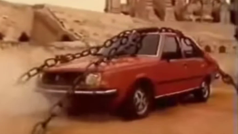 Renault 18 Diesel Sergio Leone anuncio