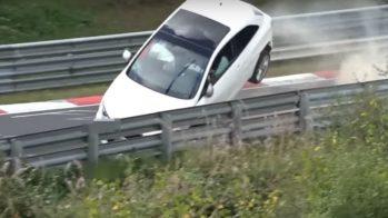 SEAT ibiza Nurburgring crash