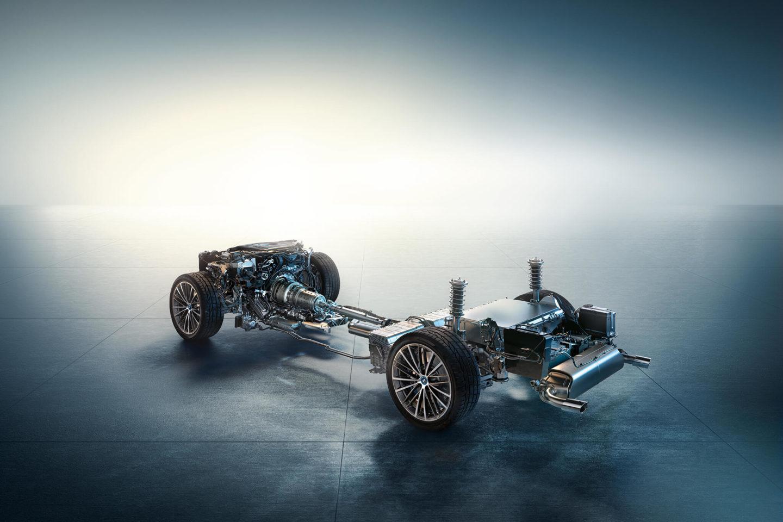 Sistema híbrido plug-in BMW Série 5 2020