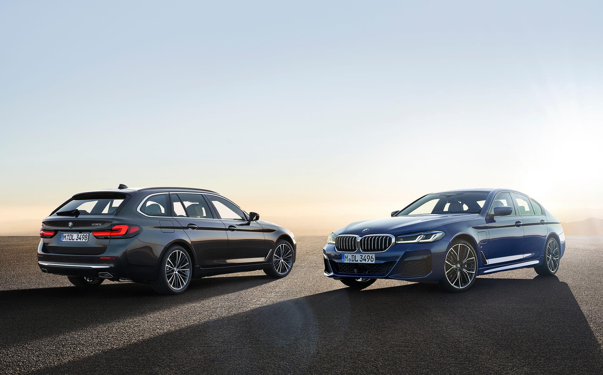 BMW Série 5 e BMW Série 5 Touring