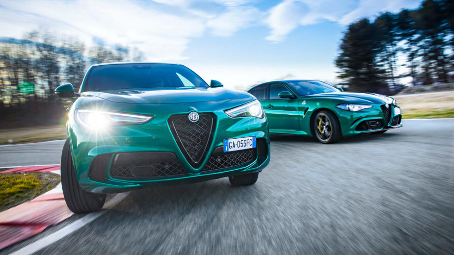 Alfa Romeo Giulia Quadrifoglio MY2020, Alfa Romeo Stelvio Quadrifoglio MY2020