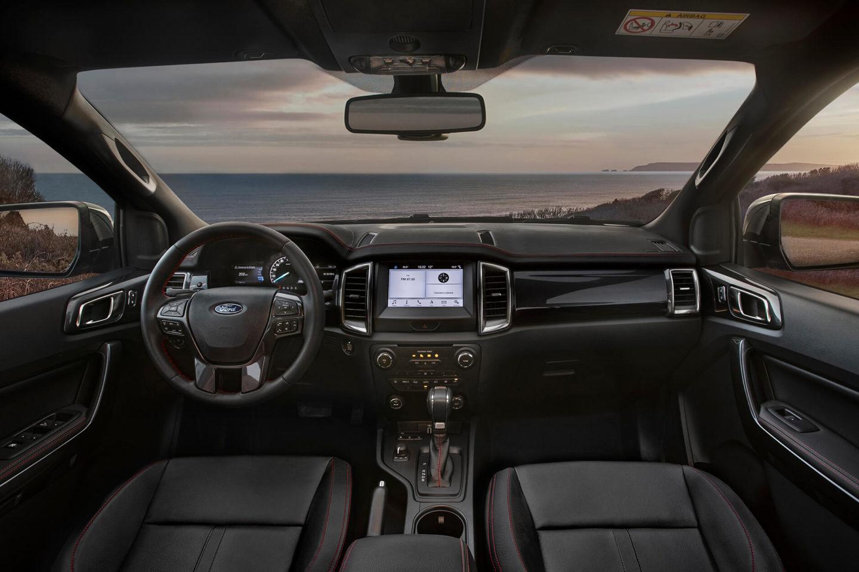 Ford Ranger Thunder interior