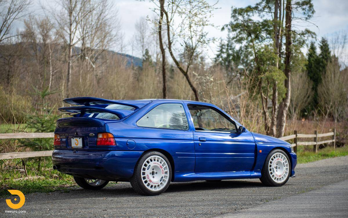 Ford Escort RS Cosworth, terceira asa