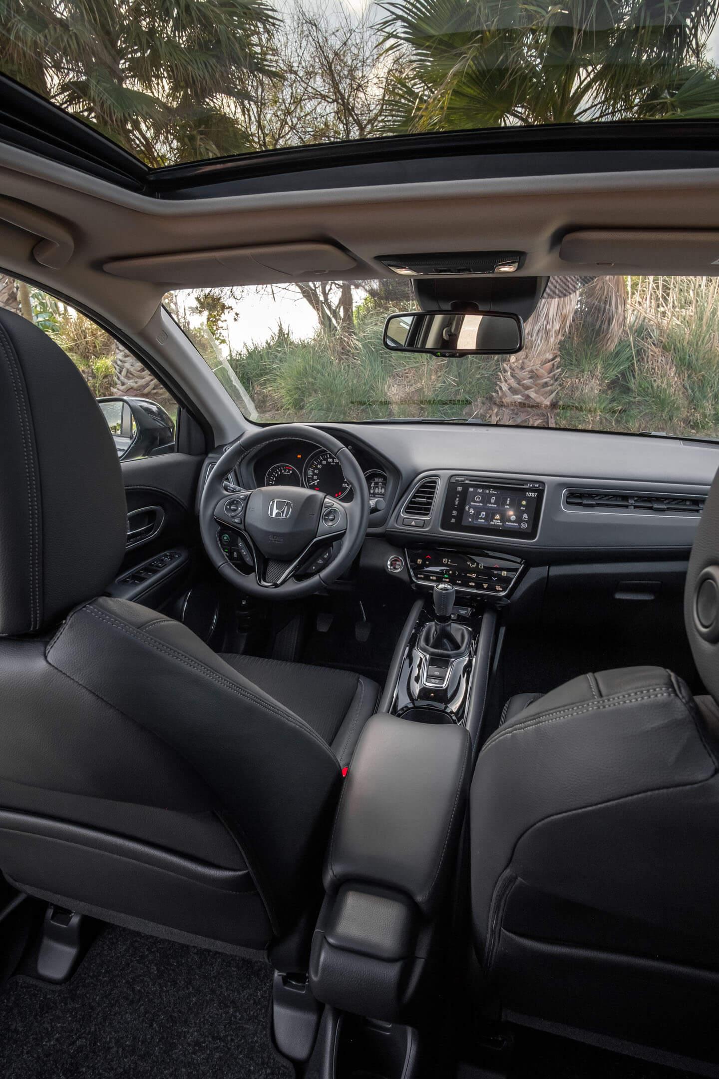 Interior do Honda HR-V